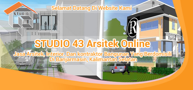 Jasa Arsitek Banjarmasin Banjarbaru & Kalsel